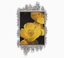 Yellow Iceland Poppy One Piece - Long Sleeve