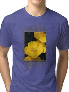 Yellow Iceland Poppy Tri-blend T-Shirt