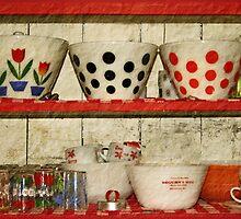 kitchen collectibles by Lynne Prestebak