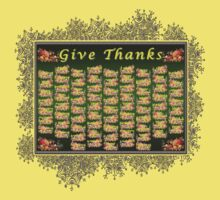 Give Thanks Kids Tee