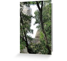 First View of Murray Falls Greeting Card