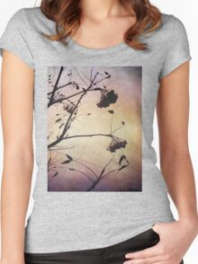 I love the purple sky Women's Fitted Scoop T-Shirt