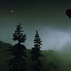 balloon over Whistler_ by Jon Downs