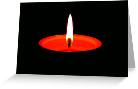 Single Flame ©  by Dawn M. Becker
