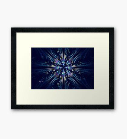 Elliptic Splits Tutorial Framed Print