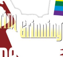 Grim Grinning Ghosts Come Out to SoCal Guys Sticker