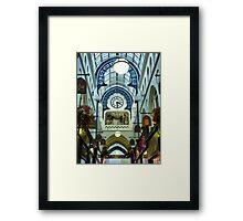 Thorntons Arcade. Framed Print