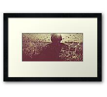 There's an ocean between us.  Framed Print