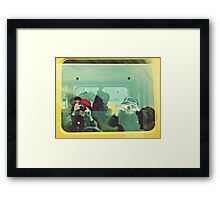 Konichiwa Framed Print