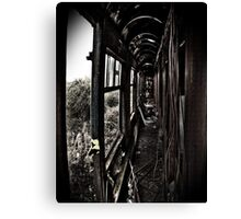 Carriage Carnage Canvas Print