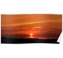 Hitchin Sunset 2 Poster