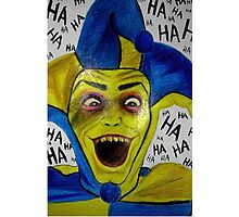 The Ghastly Grinner Photographic Print