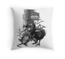 Time of Night I Throw Pillow