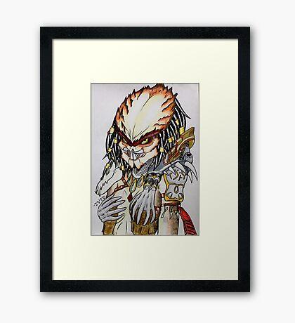 Femme Predator Framed Print