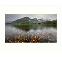3 of the 5 sisters of Kintail Art Print