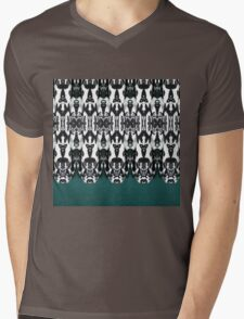 Tribal Feathers Mens V-Neck T-Shirt
