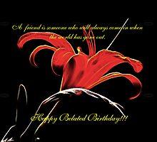 Belated Birthday for Ana Belaj by vigor