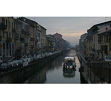 Navigli, Milano Photographic Print