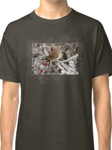 Mourning Dove in the Ice Storm Classic T-Shirt