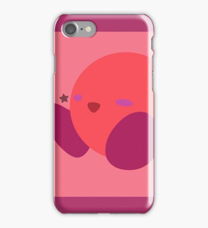 Kirby (Red) - Super Smash Bros. iPhone Case/Skin