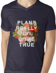 Plans Really Do Come True Mens V-Neck T-Shirt