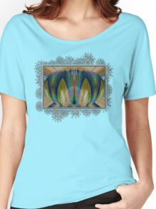 Salsify Abstract Women's Relaxed Fit T-Shirt