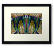 Salsify Abstract Framed Print