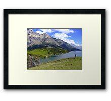 Bosporus and Upper Waterton Lake Framed Print