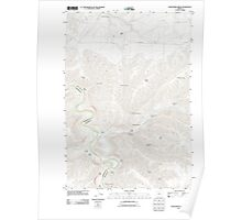 USGS Topo Map Oregon Shoestring Ridge 20110913 TM Poster