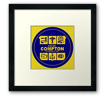 CITY OF COMPTON Framed Print