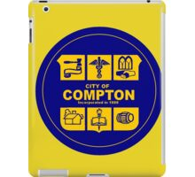 CITY OF COMPTON iPad Case/Skin