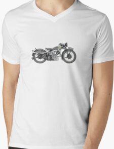 1935 Panther Motorcycle Mens V-Neck T-Shirt