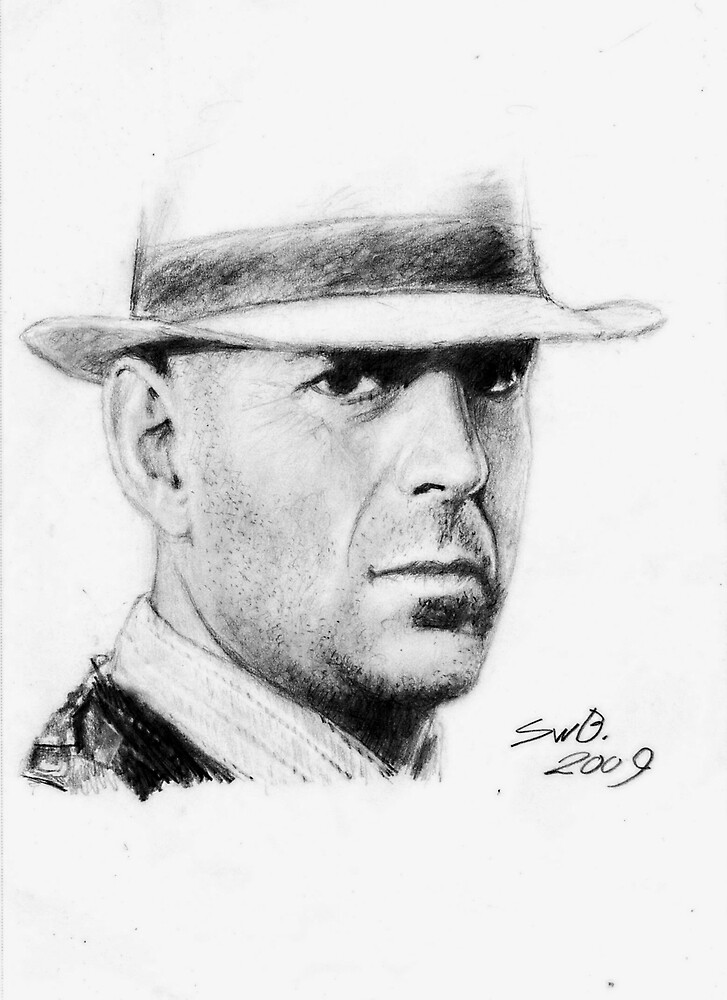 Bruce sketch by spencer bawden