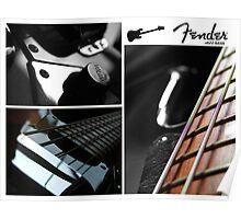 Fender Jazz D&T Poster