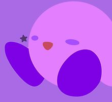 Kirby (Purple) - Super Smash Bros. by samaran