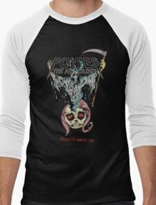 Discord/Yeezus Men's Baseball ¾ T-Shirt