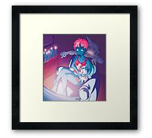 Cloudy Touch - Gamer Fiend Series Framed Print