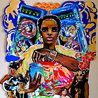 Black and Brown Feminism's in Hip Hop Poster by Beth Consetta Rubel