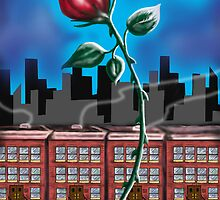 """A Rose In Spanish Harlem"" by Steve Farr"