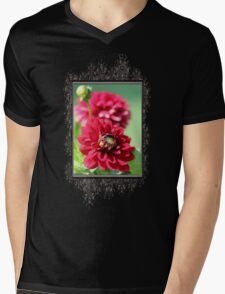 Dahlia named Caproz Jerry Garcia Mens V-Neck T-Shirt