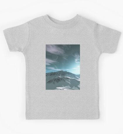 The Mountains of Sirius Beta Kids Tee