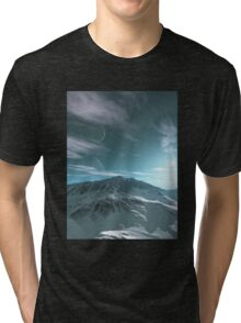 The Mountains of Sirius Beta Tri-blend T-Shirt