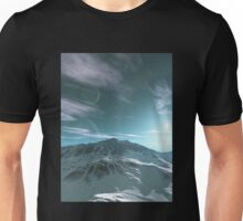 The Mountains of Sirius Beta Unisex T-Shirt
