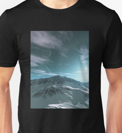 The Mountains of Sirius Beta Unisex T-Shirt