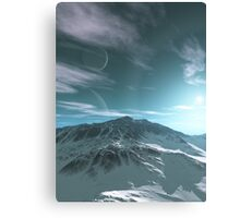 The Mountains of Sirius Beta Canvas Print