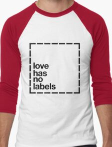 Love has no Labels Men's Baseball ¾ T-Shirt