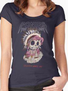 Pinkie/Yeezus Women's Fitted Scoop T-Shirt