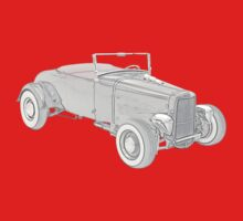 1931 Ford Hotrod One Piece - Short Sleeve