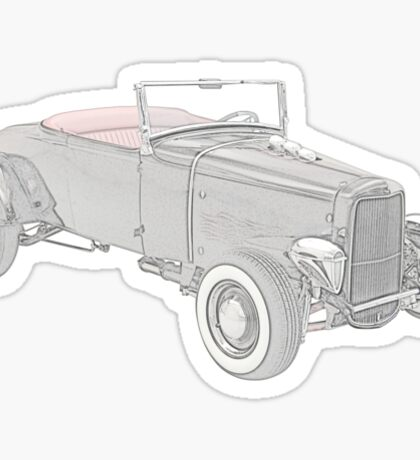 1931 Ford Hotrod Sticker