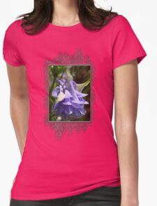 Double Columbine named Blue Womens Fitted T-Shirt
